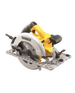 DEWALT Precision Circular Saw & Track Base 190mm 1600W 110V - DEWDWE576KL