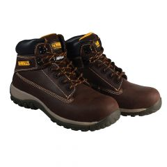 DEWALT Hammer Non Metallic Brown Nubuck Boots UK 12 Euro 47 - DEWHAMMERB12