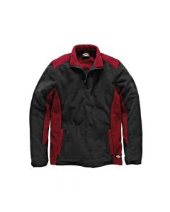 Dickies Two Tone Micro Fleece Red / Black -  XXL (52-54in) - DIC7011RBXXL