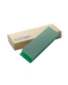 DMT Diamond Whetstone 200mm Wooden Box Green 1200 Grit Extra Fine - DMTW8E