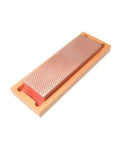 DMT Diamond Whetstone 200mm Wooden Box Red 600 Grit Fine - DMTW8F
