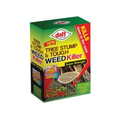 DOFF Tree Stump & Tough Weedkiller 2 Sachet - DOFFX002
