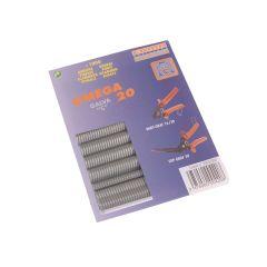 Edma Galvanised Steel Hog Ring Omega 20 (1000) - EDM0420