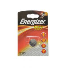 Energizer CR2025 Coin Lithium Battery Single - ENGCR2025