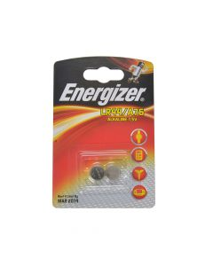 Energizer LR44 Coin Alkaline Batteries Pack of 2 - ENGLR44B2