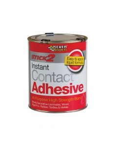 Everbuild STICK2 All-Purpose Contact Adhesive 750ml - EVBCON750