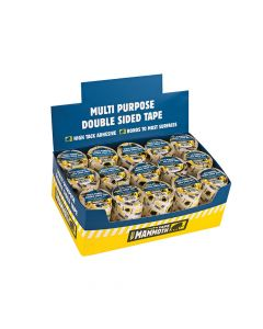 Everbuild Double Sided Tape 50mm x 10m Display 18 Pieces - EVBDSTP1018