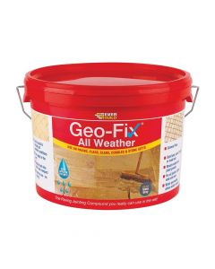 Everbuild Geo-Fix All Weather Grey 14kg - EVBGEOWET14G