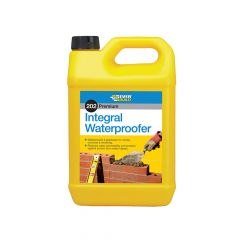 Everbuild 202 Integral Liquid Waterproofer 5 Litre - EVBILW5L