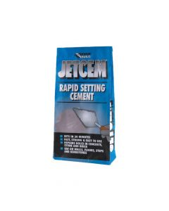 Everbuild Rapid Set Cement 12kg (4 x 3kg Packs) - EVBJETCEM3