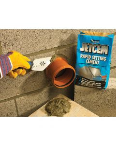 Everbuild Jetcem Rapid Set Cement 12kg (2 x 6kg Pack) - EVBJETCEM6