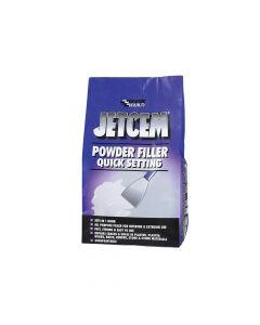 Everbuild Jetcem Quick Setting Powder Filler (Single 3kg Pack) - EVBJETPOWF3