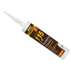 Everbuild 115 General Purpose Building Mastic Brown 285ml - EVBMASBR