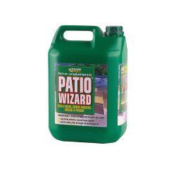 Everbuild Patio Wizard Concentrate 5 Litre - EVBPATWIZ5L