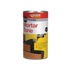 Everbuild 208 Powder Mortar Tone Black 1kg - EVBPMTBK1
