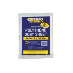 Everbuild Polythene Dust Sheet 3.6 x 2.7m - EVBPOLYDS129