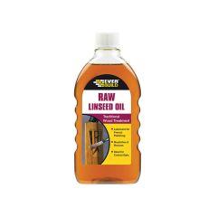 Everbuild Raw Linseed Oil 500ml - EVBRAWLIN
