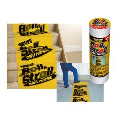 Everbuild Roll & Stroll Premium Carpet Protector 600mm x 75m - EVBROLL75