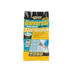 Everbuild Universal Flexible Grout Grey 5kg - EVBUFLEX5GY