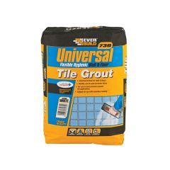 Everbuild Universal Flexible Grout White 5kg - EVBUFLEX5WE