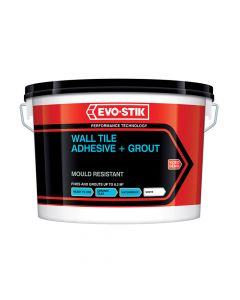 Evo-Stik Mould Resistant Wall Tile Adhesive & Grout 10 Litre - EVO416543