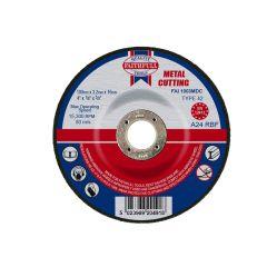 Faithfull Depressed Centre Metal Cut Off Disc 100 x 3.2 x 16mm - FAI1003MDC