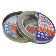 Faithfull Multi-Cut Cutting Discs 115 x 1.0 x 22mm (Pack of 10) - FAI11510MUL