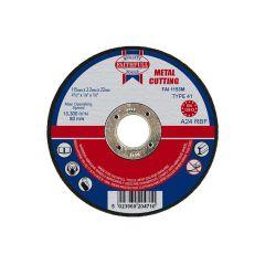 Faithfull Metal Cut Off Disc 115 x 3.2 x 22mm - FAI1153M