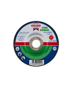 Faithfull Depressed Centre Stone Grinding Disc 125 x 6 x 22mm - FAI1256SDG