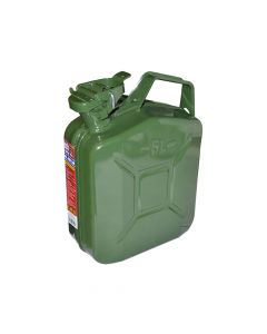Faithfull Green Jerry Can - Metal 5 Litre - FAIAUJERRY5