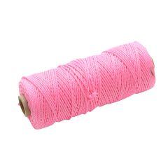 Faithfull Hi Vis Nylon Brick Line 105m (344ft) Pink - FAIBLHVP
