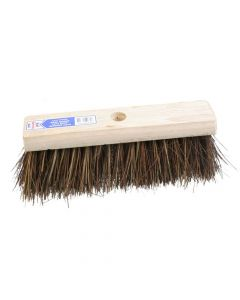 Faithfull Flat Broom Stiff Bassine / Cane 325mm (13in) - FAIBRBC13FL