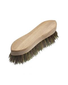 Faithfull Hand Scrubbing Brush 200mm (8in) Unvarnished - FAIBRHANDSCR