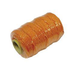 Faithfull Polyethylene Brick Line 36m (118ft) Orange - FAIC300