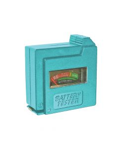 Faithfull Battery Tester for AA, AAA, C, D & 9V - FAIDETBAT