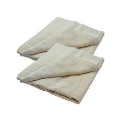 Faithfull Cotton Twill Dust Sheet Twinpack 3.6 x 2.7m - FAIDSCT129TP