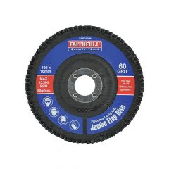 Faithfull Flap Disc 100mm Medium - FAIFD100M