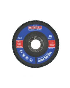 Faithfull Flap Disc 115mm Coarse - FAIFD115C