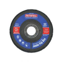 Faithfull Flap Disc 115mm Medium - FAIFD115M