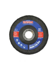 Faithfull Flap Disc 127mm Medium - FAIFD127M