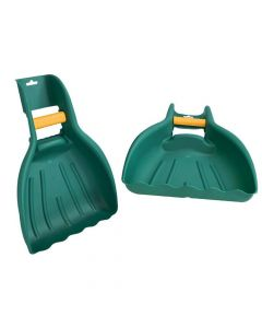 Faithfull Leaf and Rubbish Collector Hand Scoops - FAILEAFHANDS