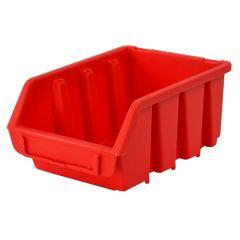 Faithfull Interlocking Storage Bin Size 2 Red 116 x 161 x 75mm - FAITBBIN2