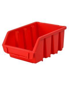 Faithfull Interlocking Storage Bin Size 3 Red 170 x 240 x 126mm - FAITBBIN3
