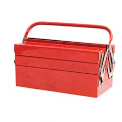 Faithfull Metal Cantilever Toolbox - 5 Tray 49cm (19in) - FAITBC519