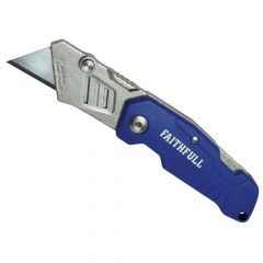Faithfull Lock Back Utility Knife - FAITKLBN