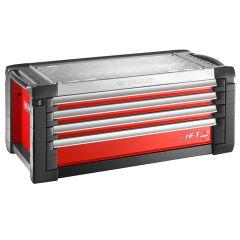 Facom Roller Cabinet 4 Drawer Red - FCMJETC4M5