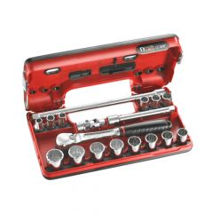 Facom 12 Point Socket Set 3/8in Drive - FCMJLDBOX112