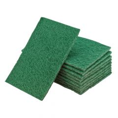 Flexipads World Class Hand Pads Green General Purpose 150 x 223mm (10) - FLE34000