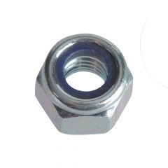 ForgeFix Nyloc Nuts & Washers Zinc Plated M6 Forge Pack 25 - FORFPNYL6