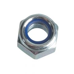 ForgeFix Nyloc Nuts & Washers Zinc Plated M8 Forge Pack 12 - FORFPNYL8